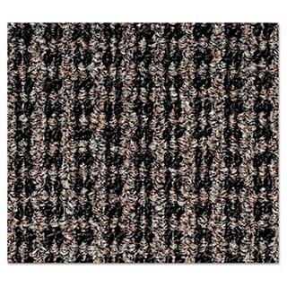 Oxford Wiper Mat, 48 x 72, Black-Brown