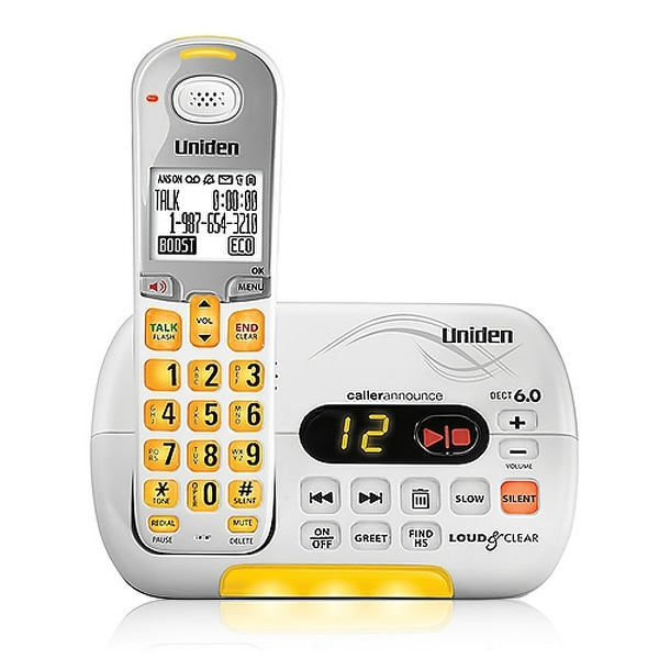 Shop Refurbished Uniden D3097 Cordless Phone with Voicemail