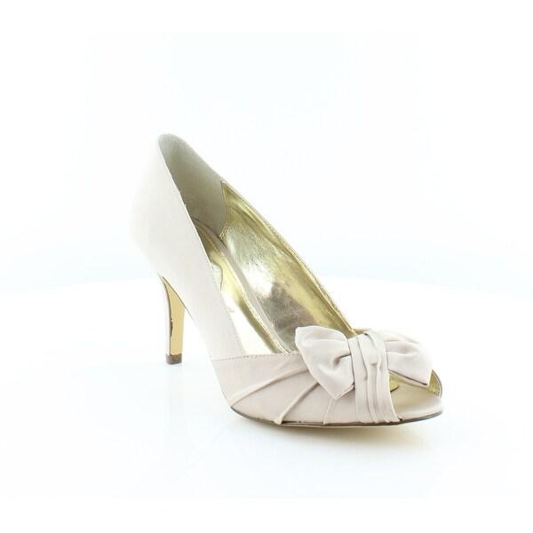 Nina Futura Women's Heels Powder Sand Luster - 9