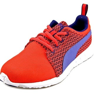 Puma Carson Runner Knit Wn's Round Toe Synthetic Running Shoe