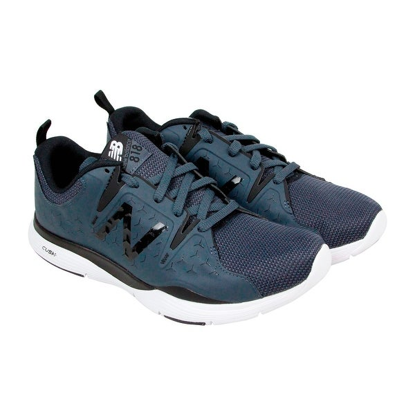 New Balance Mx818 Mens Blue Synthetic Athletic Lace Up Training Shoes