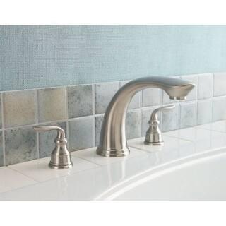 Pfister RT6-5CB Avalon Deck Mounted Roman Tub Faucet|https://ak1.ostkcdn.com/images/products/is/images/direct/527aa9acc29020c5a50a96c61253d4703a2aa89d/Pfister-RT6-5CB-Avalon-Deck-Mounted-Roman-Tub-Faucet.jpg?impolicy=medium
