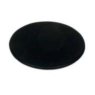 Dacasso A1071 Black Leather Round Coaster