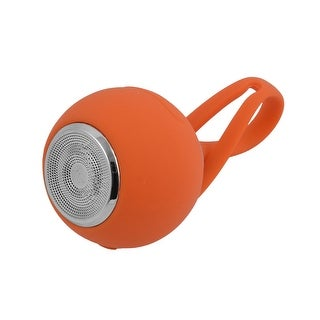Outdoor Sports Silicone Portable Stereo Subwoofer bluetooth Speaker Orange