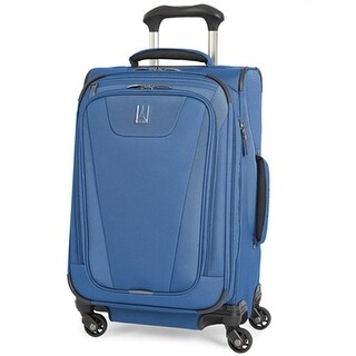 "Travelpro Maxlite 4 - Blue 21"" Polyester Fabric Expandable Spinner w/ Water Resistant Coating"