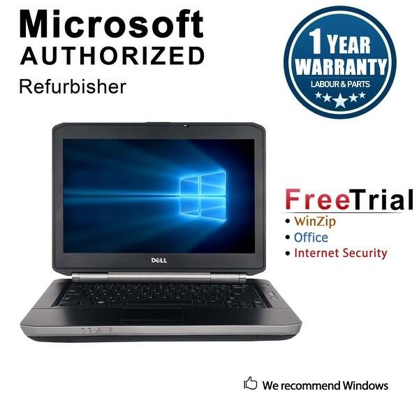 "Refurbished Dell Latitude E5430 14.0"" Laptop Intel Core i5 3320M 2.6G 4G DDR3 500G DVDRW Win 7 Pro 64 1 Year Warranty - Black"