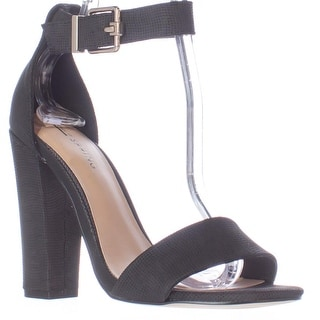 Call It Spring Arther Ankle Strap Dress Sandals - Black