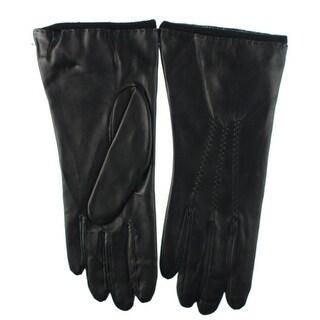 Grandoe Womens Touchscreen Classic Leather Gloves - S