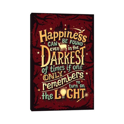 """iCanvas """"Harry Potter I"""" by Risa Rodil Canvas Print"""