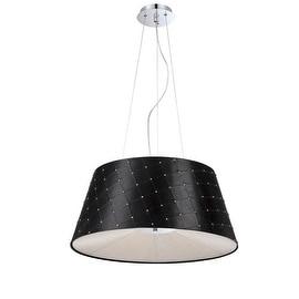 Eurofase Lighting 25625 Sasso 3 Light CFL Pendant with Tapered Shade