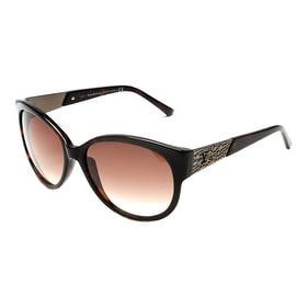 John Galliano Women's Oversized Frame Sunglasses Tortoise - Small