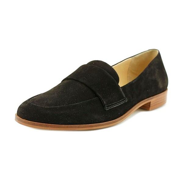 Steven Steve Madden Quintus Round Toe Leather Loafer