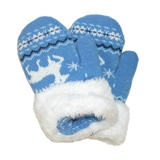 CTM® Toddlers' Mittens with Cuff
