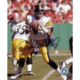 Signed Maddox Tommy Pittsburgh Steelers 8x10 Photo autographed