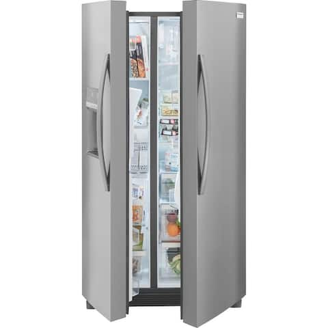 Frigidaire Gallery GRSC2352AF 22.3 Cu. Ft. 36'' Counter Depth Side by Side Refrigerator