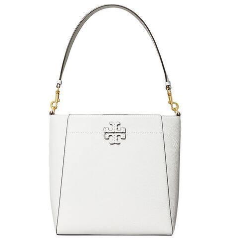 Tory Burch Womens Mcgraw Gardenia White Hobo Handbag
