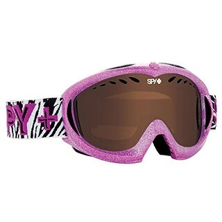 Spy Optic 648478756397 Targa Mini Snow Ski Goggles Wild Thing Frame Bronze - wild thing