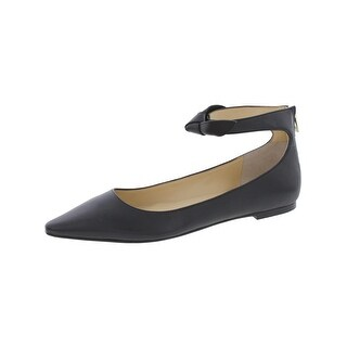 Ivanka Trump Womens Tramory Flats Pointed Toe Ankle Cuff