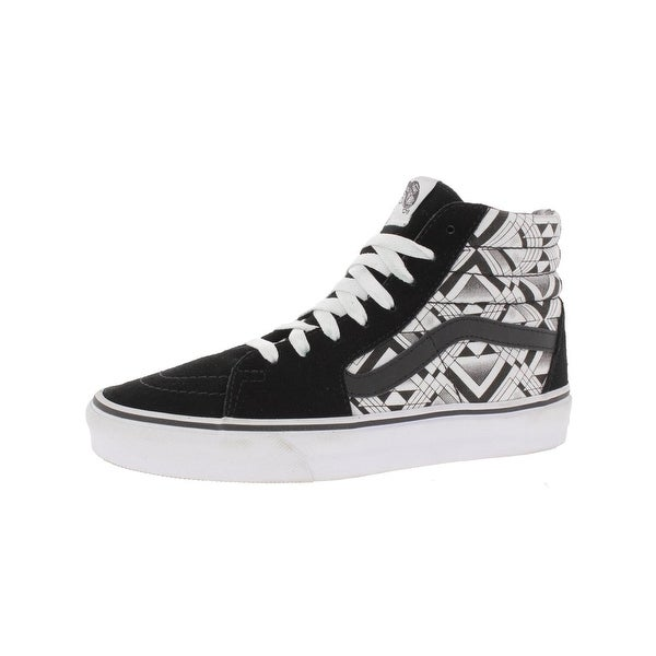 2cf8041d726 Shop Vans Womens Sk8-Hi Skate Shoes Suede Trim High Top - 6.5 Medium ...