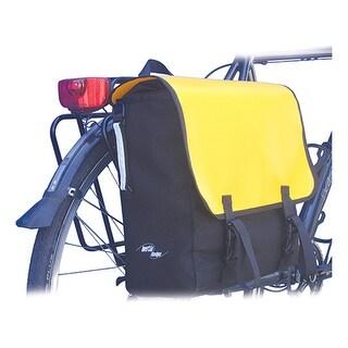 Inertia Monsoon Satchel Bicycle Pannier Bag - Single Side - black/yellow
