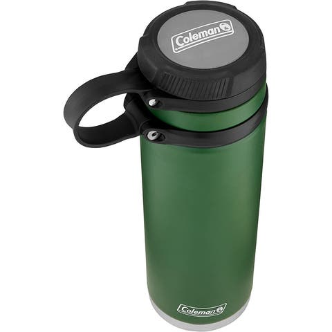 Coleman 2016913 Fuse Insulated Stainless Steel Water Bottle, Heritage Green, 40 oz.