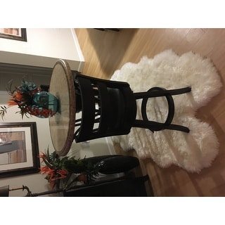 Safavieh Hand-woven Sheepskin Pelt White Shag Rug (4' x 6')