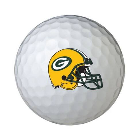 Wilson NFL Green Bay Packers Golf Balls Team Logo Wilson Ultra 500, 6 Pack - One Size