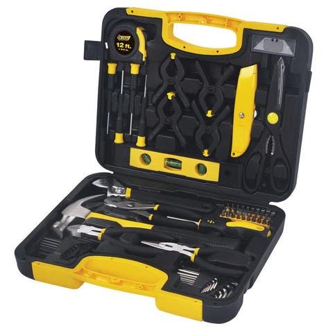 Steel Grip Multi-Tool Set Black/Yellow 76 pc.