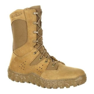 Rocky Men's S2V Predator Military Boot RKC072 Coyote Brown Leather/Synthetic