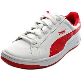 Puma Smash L Jr Round Toe Leather Sneakers
