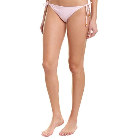 Shoshanna Swimwear Clean Triangle Bikini Bottom