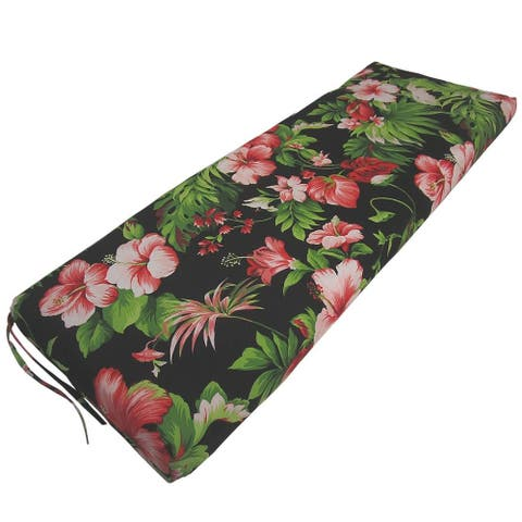 Paradise Tropical Indoor/Outdoor Bench Cushion