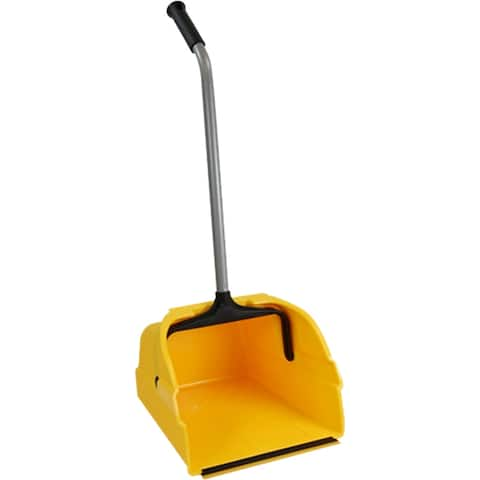 Quickie 495 Jumbo Debris Dust Pan with Reinforced Steel Handle