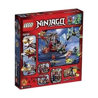 LEGO NINJAGO LEGO SET, Ronin R.E.X. Ninja Building Kit 70735 BUILDING SET - Black