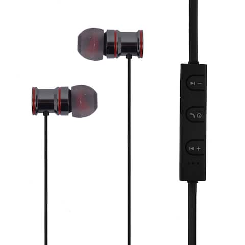 Stereo Sound bluetooth Earphone In-Ear Headset Sports Earbud Ear Bud Black