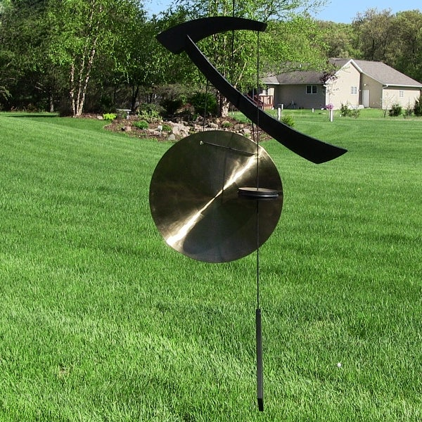 Woodstock Emperor Medium Gong Black Wood