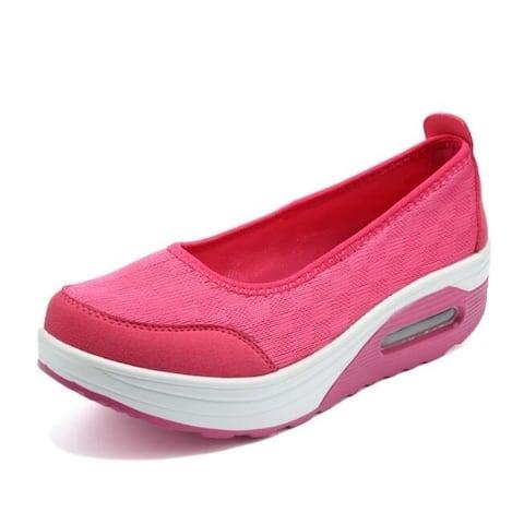 Platform Wedge Sneakers