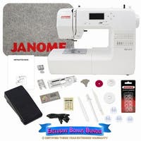 Janome DC1018 Sewing Machine with Exclusive Bonus Bundle