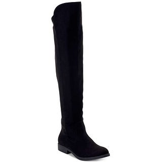 Style & Co. Women's Shoes Hayley Almond Toe Over Knee Fashion Boots