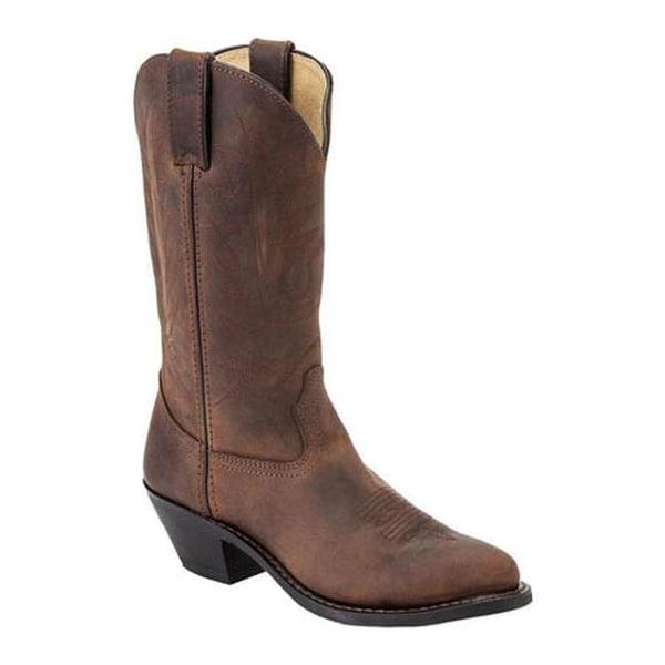 Durango Boot Women's RD4112 11 Tan Distress Leather