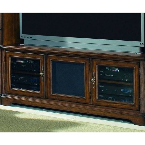 Hooker Furniture 281 70 465 65 Inch Wide Hardwood Media Cabinet From The  Brookha