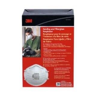 3M 8200HB1-C Sanding & Fiberglass Respirator, 20-Pack