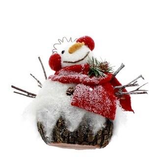 Plaid Scarf Snowman