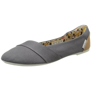 Keen Womens Cortona Canvas Slip On Ballet Flats - 10.5 medium (b,m)