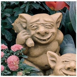 Design Toscano The Picc-a-Dilly Bum Gargoyle Statue: Large