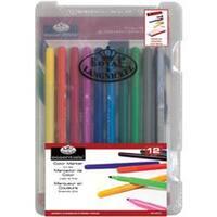 Color Marker 12Pc - Clearview Mini Art Set