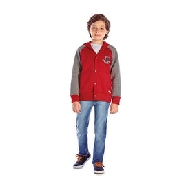 Boys Hoodie Jacket Button-Up Kids Winter Clothing Pulla Bulla 2-10 Years