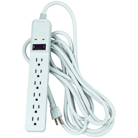 Fellowes 6 Outlet Basic Surge Protector (99036)