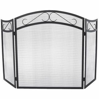 Do it Best Global Sourcing - Fireplace Accessories 3-Panel Fireplace Screen FS01 Unit: EACH