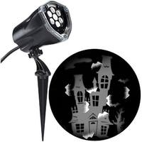 Holiday Lightshow Projection: Whirl-a-Motion+ Static Bat (White)